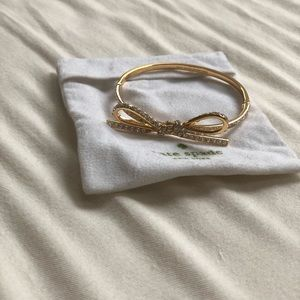 Kate Spade Tied Up Bracelet - Bangle with Clasp